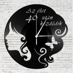 Bakelit falióra - Az élet 40 után kezdődik