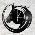 Design ló bakelit falióra