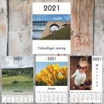 Egyedi fényképes naptár 2021