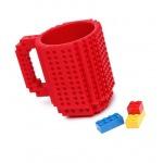 Lego bögre - piros
