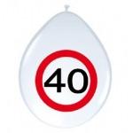 Sebességkorlátozó lufi - 40