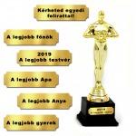 Oscar szobor - 28cm műanyag talppal