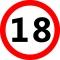 Sebességkorlátozós 18