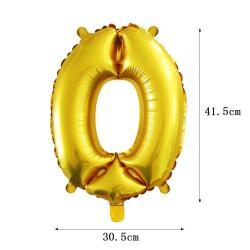 Számos fólia lufi - 0
