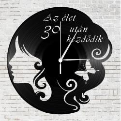 Bakelit falióra - Az élet 30 után kezdődik