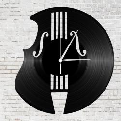 Hegedű bakelit óra