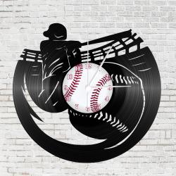 Bakelit falióra - Baseball játékos