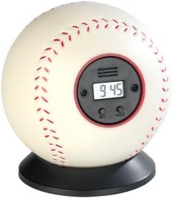 Falhoz vágható baseball labda ébresztőóra