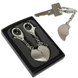 Szív kulcstartó pároknak