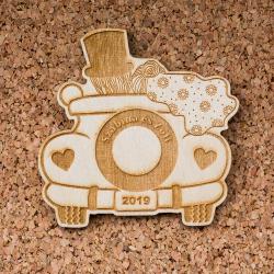 Esküvői köszönőajándék - Menyasszonyi autó