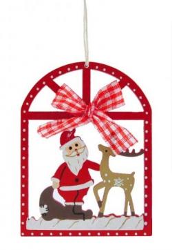 Télapó karácsonyfadísz