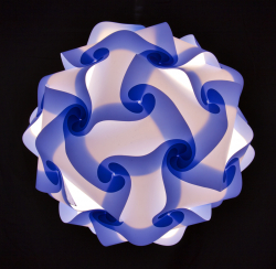Kreatív puzzle lámpa - gömb