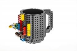 Lego bögre - szürke