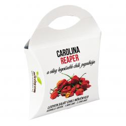 Carolina Reaper chili paprika magok díszdobozban