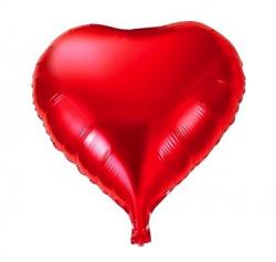 Szív formájú fólia lufi