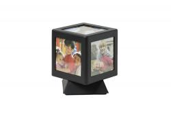 Forgatható kocka képkeret világítással