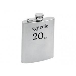 Fém laposüveg - 20. Születésnapra