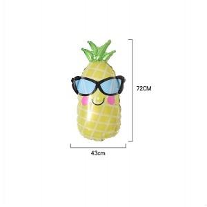 Ananász napszemüvegben fólia lufi