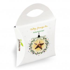 Csillag formájú karácsonyi tea