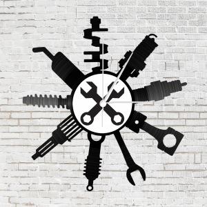 Bakelit óra - autószerelő