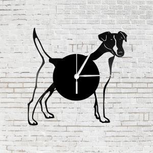 Bakelit óra - Jack Russel terrier kutya