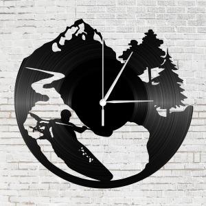 Bakelit falióra - Vadvízi evezés