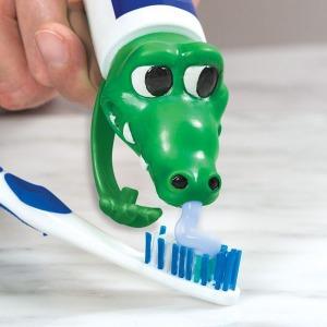 Fogkrém kupak - krokodil