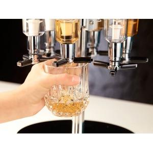 Forgós italadagoló állvány