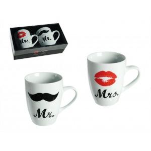 Mr és Mrs bögrék szerelmes pároknak