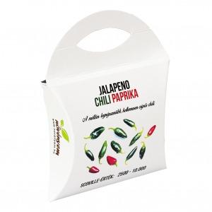Jalapeno chili paprika magok díszdobozban