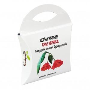 Nepáli harang chili paprika magok díszdobozban