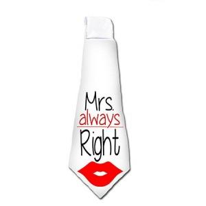 Vicces nyakkendő - Mrs right