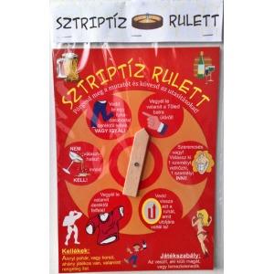 Sztriptíz rulett