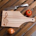 Gravírozott vágódeszka zenészeknek