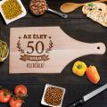 Születésnapi vágódeszka - Az élet 50 után kezdődik