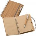 Bambusz füzet A5 + toll - Legjobb receptjeim