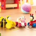 Húzható méhecske fajáték gyerekenek