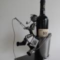 Fém bortartó – horgász