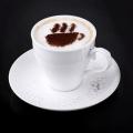 Cappuccino és kávé díszítő sablonok