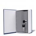 Könyv széf - kék - 24,5cm