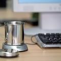 USB csésze melegítő fém bögrével